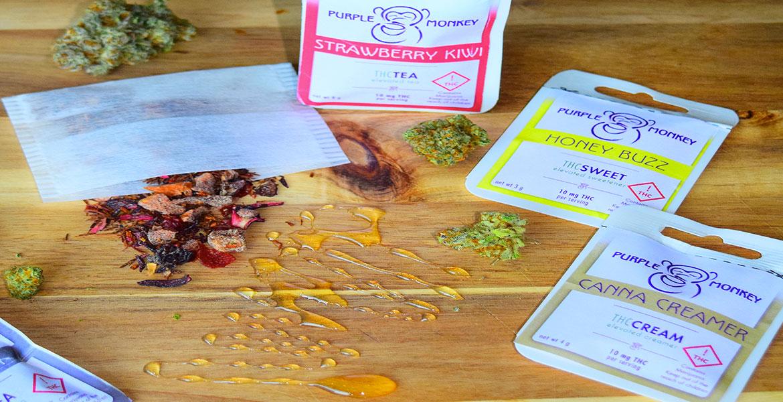 Purple Monkey Infused Herbal Teas