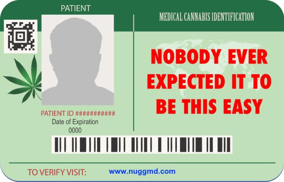 medicinal cannabis cards 2018