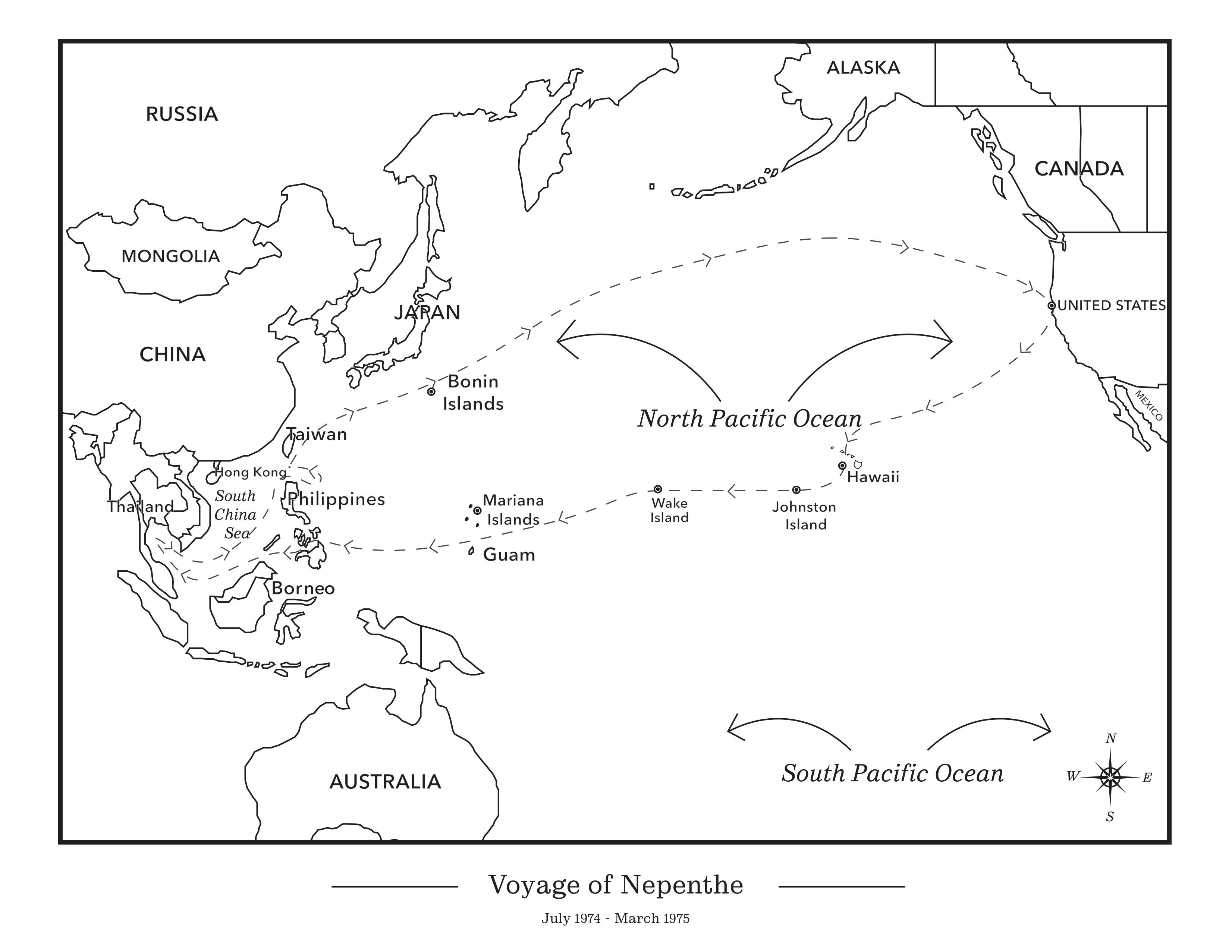 Voyage of Nepenthe 90 to Zamboanga